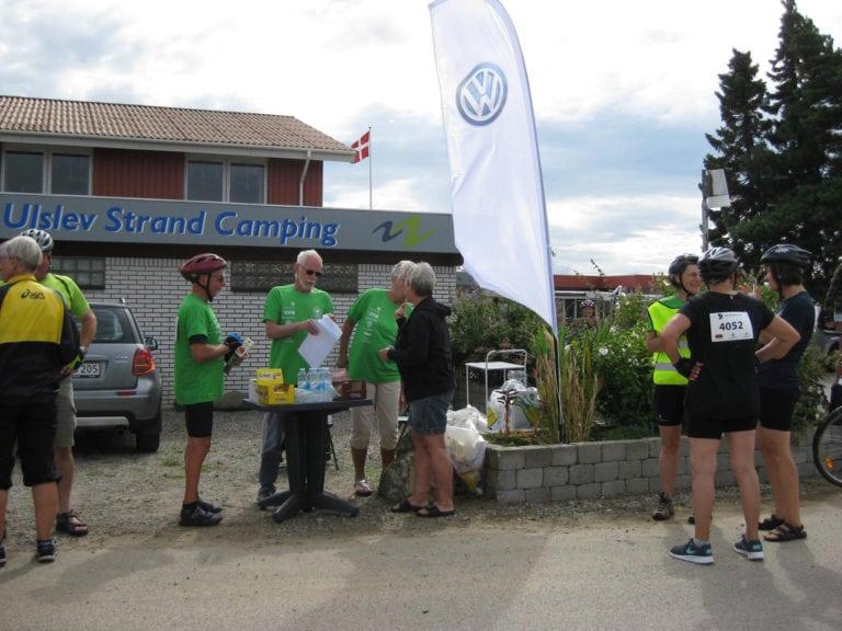 Strandcamping Falster, cykelløb drikkebod